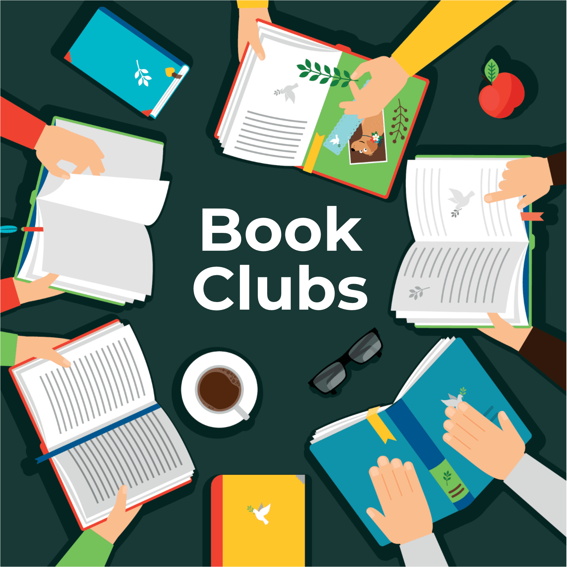 Book Clubs for Webpage