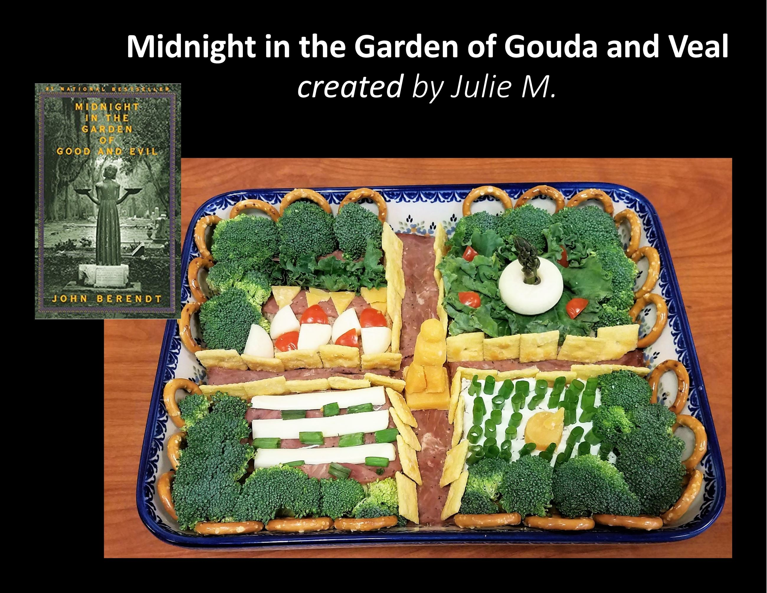 A3 Midnight in the Garden of Gouda and Veal by Julie M