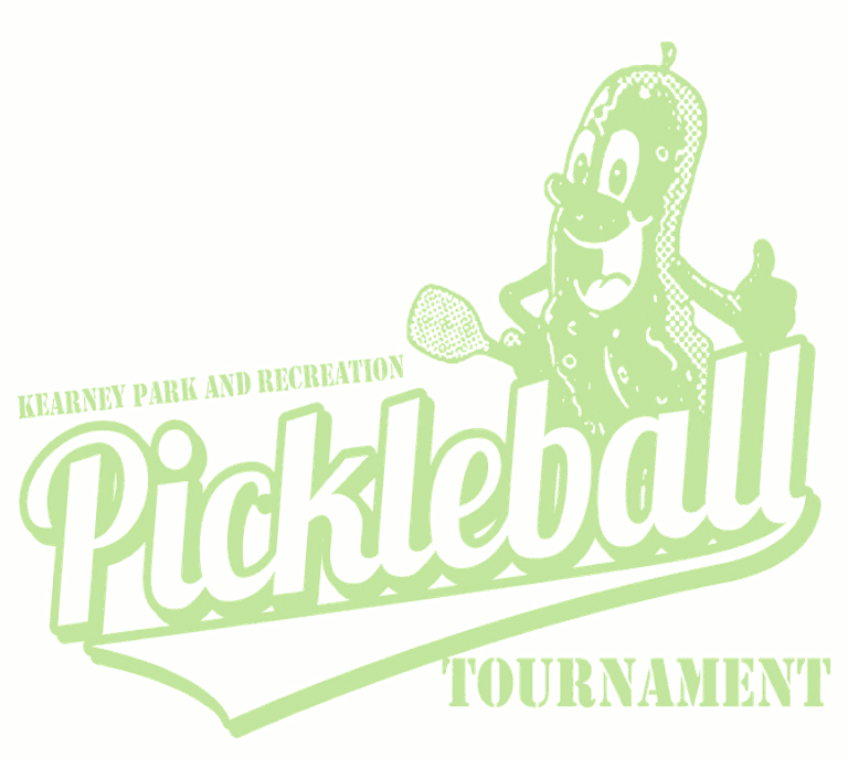 Pickleball Tourney Logo