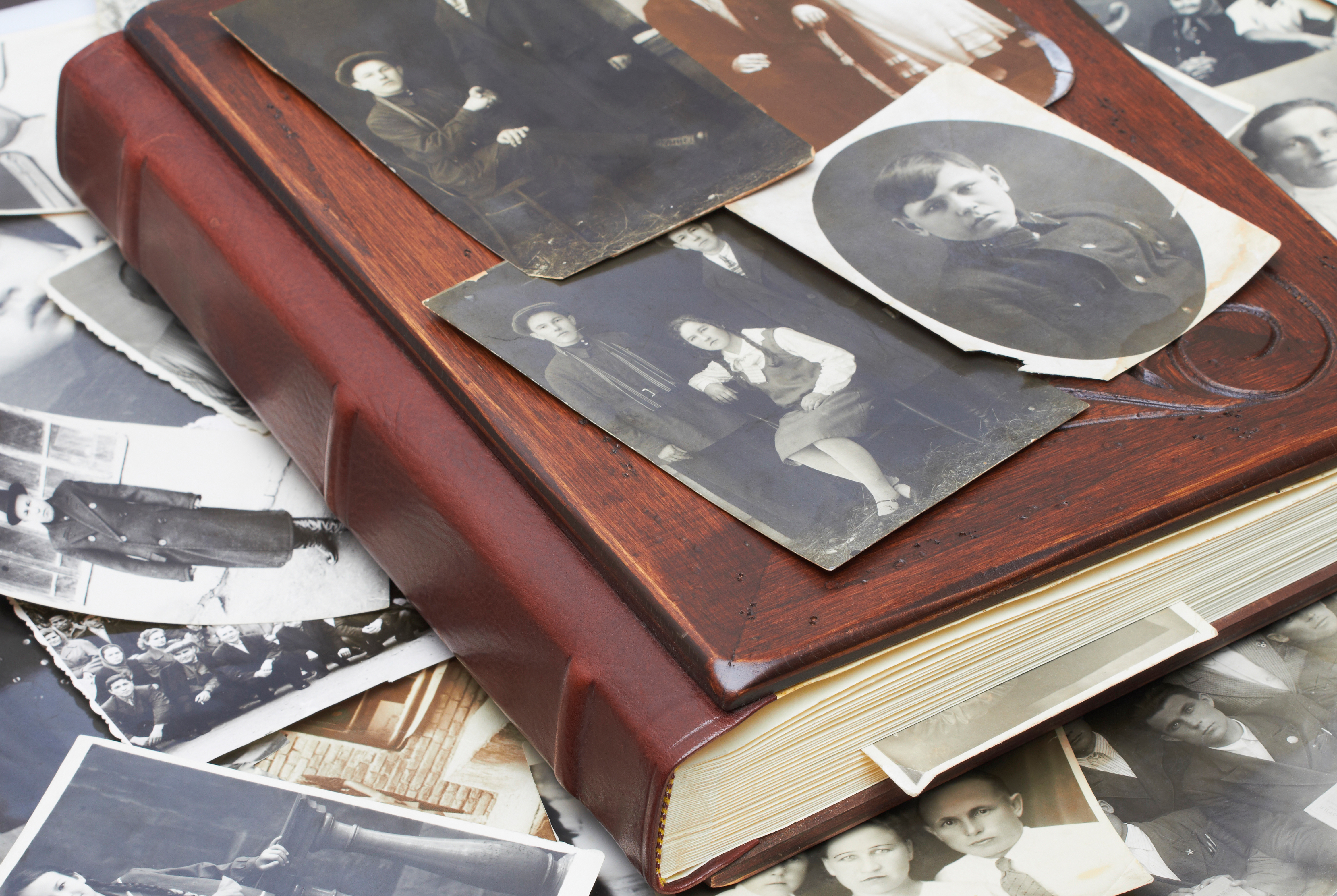 Genealogy - Book and Photos